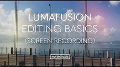 LumaFusion Editing Quick Start (Screen Recording) Make A Mobile, Start Screen, Video Editing Apps, Mobile Video, Travel Videos, Video Production, All Video, Photoshop Tutorial, Latest Video