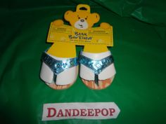 New Build A Bear BAB Blue Sandals Fashion Shoes Accessories find me at www.dandeepop.com