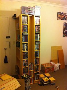 Billy-Benno bookcase & DVD Block - IKEA Hackers