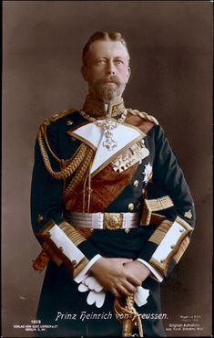 Prinz Albert Wilhelm Heinrich von Preußen (1862–1929), Kaiser William II's brother, Queen Victoria's grandson.