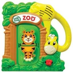 Magnet Zoo Animal Playset (19187) - by At LeapFrog Enterprises. $28.62. Mix and match the animal tiles to make 25 possible combinations! Learn colors and animal sounds and facts while playing. Listen to songs to celebrate correct matches or fun songs about silly animal creations. Press the giraffe's head for 5 lively jungle tunes. Tiles and housing stick to most magnetic surfaces. Parents can connect to the online LeapFrog Learning Path for customized learning insi...