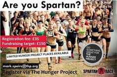 Are you Spartan? Hunger Project UK
