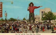 Traveler: New Big Tex Debuts at State Fair of Texas | Amusing the ...