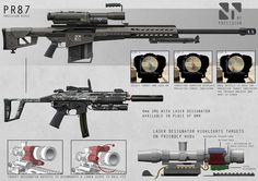 Recon Weapons by ~AlexJJessup on deviantART