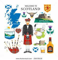 Travel Concept Country Landmark 02 B (Welcome To Scotland) . Buy any Canvas Art Print,Framed Art,Poster and Photo Print at Great Prices, Retail and Wholesale Satisfaction Manufacturer and Supplier. Scotland Map, Scotland Travel, Scotland Symbols, Scottish Symbols, Travel Clipart, Wall Prints, Poster Prints, Pictorial Maps, City Maps