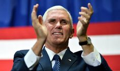 If you hate Pence as much as I do, then you'll want to read this article ~ especially the tweets from someone who was there.