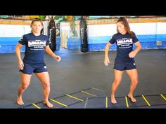 5 Agility Ladder Drills For Muay Thai - YouTube