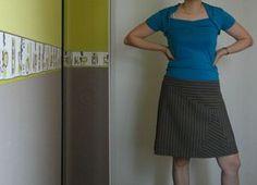 jupe asymétrique