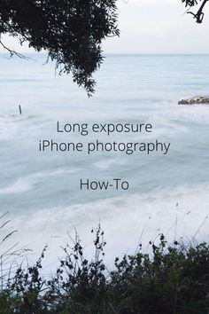 Long exposure iPhone photography How-To Almost six months ago I started experimenting with long exposure photography on my iPhone. With the latest iOS update you can control a number of different settings, like ISO and exposure, but unfortunately you can't