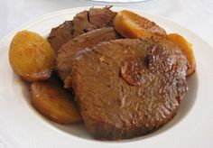 Cuban Carne Asada/Boliche Mechado (Cuban-style Pot Roast) - Hispanic Kitchen