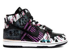 check out b4953 e1b83 Original Mens Custom SBTG x DRS x MR SK Dunk High Top AC Blizzard Shoes