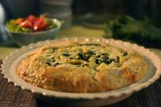Rustic Potato and Greens Pie - Very good, especially if you're looking for a way to add more greens in your diet or are trying to like greens in your diet :-)
