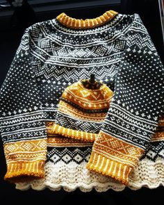 Easy Knitting Patterns for Beginners - How to Get Started Quickly? Fair Isle Knitting, Knitting Yarn, Hand Knitting, Easy Knitting Patterns, Knitting For Kids, Laine Rowan, Punto Fair Isle, Norwegian Knitting, Look At My