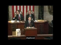 1988, January 25 – Ronald Reagan – State of the Union – open captioned – The Closed Captioning Project LLC, sponsored by Accurate Secretarial LLC