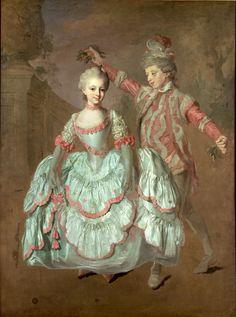 Dancing children 1760  Lorens Pasch the Younger (1733–1805)