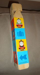 Thomas The Tank Engine Thomas & Friends Wood Train Whistle 2002 find me at www.dandeepop.com