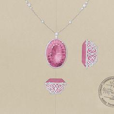 Tiffany Blue Book #gemstones #TiffanyandCo Tiffany Sketch