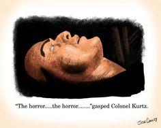 Colonel Kurtz. Art by Josh Cooley.