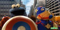Coole Parodie der Avengers in der Sesamstraße!