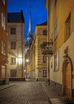 Old Town, Stockholm. by Anders E. Skånberg on 500px
