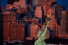 Statue de la Liberté, USA - Yann Arthus-Bertrand