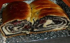 Mákos kalács Baking And Pastry, Strudel, Cake Cookies, Hot Dog Buns, Food And Drink, Favorite Recipes, Bread, Meals, Christmas