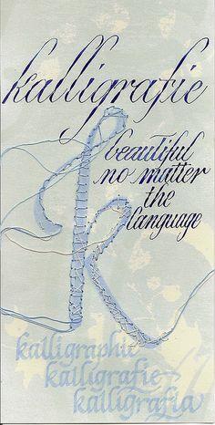 Kalligrafie K