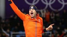 Winter Olympics: Dutch skater Sven Kramer clinches third straight 5,000m gold  ||  Dutch speed skating star Sven Kramer sets a new Olympic record to make it three golds in a row in the men's 5,000m event. http://www.bbc.co.uk/sport/winter-olympics/42968045?utm_campaign=crowdfire&utm_content=crowdfire&utm_medium=social&utm_source=pinterest