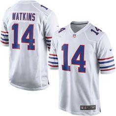 Sammy Watkins Buffalo Bills Nike Alternate Game Jersey - White - $99.99