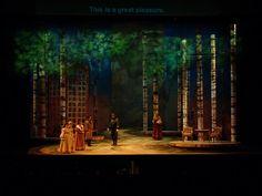 Eugene Onegin. Atlanta Opera. Scenic design by Peter Dean Beck. 2003