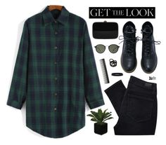 """""""Senza titolo #547"""" by elly3 ❤ liked on Polyvore featuring Paige Denim, Rocio, GHD, Ray-Ban, Repossi and L. Erickson"""