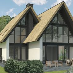 Grote Kaap B - Lighthouse Living Home Building Design, Building A House, House Design, Modern Bungalow Exterior, Garden Architecture, House Front, Home And Living, Lighthouse, House Plans