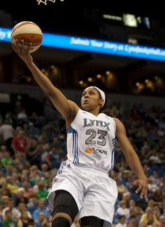 The Minnesota Lynx crushed the Washington Mystics 98-69 in their first game since the Olympic break. Minnesota hit 51 percent of their shots and scored 32 points off turnovers. Seimone Augustus had 20 points and Maya Moore (pictured) scored 17 points