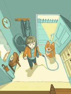 Day in the life of a Corgi on Behance