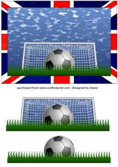 Union Jack Soccer Football on Craftsuprint - View Now!