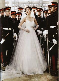 British Vogue - Wedding Belles Mario Testino - Photographer
