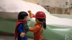 Mr. Farty #2 04  Mrs. Farty cried whole night. She was desperate, feeling hopeless. Therefore, Superman made her feeling better, after he stopped to find out, what's new about Mr. Farty condition.  Superman: How is he doing? What did the doctors tell?  Mrs. Farty: They know nothing yet, still waiting for results, but it doesn't look good. God, what if he dies? What would I do then?  Superman: Don't worry, we still know nothing yet. Do not lose hope....  Continued in link ...