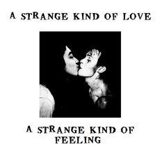 Peter Murphy is kissing me