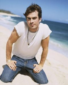 Ian Joseph Somerhalder (born December 8, 1978) is an American actor and model, best known for playing Boone Carlyle in the TV drama Lost and Damon Salvatore in the TV drama The Vampire Diaries.