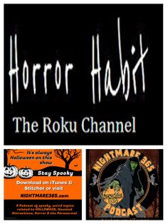 Jolie Bergman runs Horror Habit, a channel on Roku, showing  Horror movies, B-Movies, Classics, Gore, Ghost Stories, Independent Films. Also check out her blog, which she initially started to record every horror movie she watched in the month of October. It has since grown into a database of AWESOME.  @horrorhabitblog(Twitter) HorrorHabit Roku Channel Horror Habit website