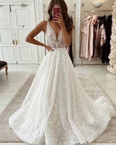 Blush Pink Wedding Dress, Cute Wedding Dress, Best Wedding Dresses, Bridal Dresses, Trumpet Wedding Dresses, Wedding Dress Princess, Different Wedding Dress Styles, Informal Wedding Dresses, Wedding Dressses