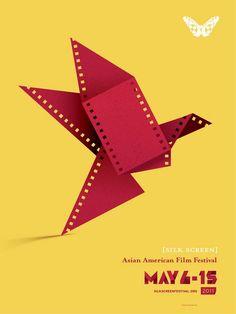 Asian American Film Festival (compare to St. Louis Film Festival Poster in same album...haha :) #filmfestival