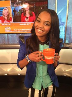 """China Anne McClain Visited """"The Couch"""" July 10, 2013"""