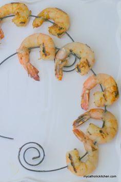 Spanish Shrimp Kabobs