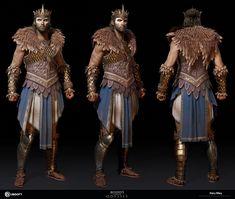 ArtStation - Sphinx - Assassin's Creed Odyssey, Gary Riley Arte Assassins Creed, Assassins Creed Odyssey, Arnold Maya, Greek Mythology Gods, Greek Soldier, Fantasy Costumes, Fantasy Character Design, Fantasy Inspiration, Zbrush