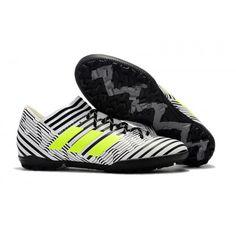 5b2aae274 Nuovo Adidas Nemeziz Tango 17-3 TF Scarpe da calcio Bianco Verde Nero
