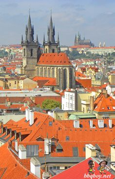 Photo Essay on the best towers in Prague: http://bbqboy.net/photo-essay-towers-prague/ #prague #czechrepublic