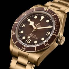 *Blog Update - Read iN!* #Tudor 39mm Black Bay Fifty-Eight Bronze⌚️ with a Special Quick Adjustment Bronze Bracelet…🎉