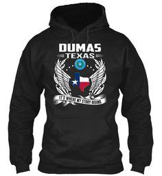 Dumas, Texas - My Story Begins