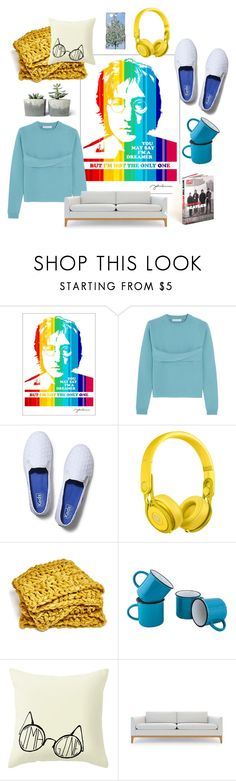"""Comfy"" by perunica ❤ liked on Polyvore featuring interior, interiors, interior design, home, home decor, interior decorating, WALL, J.W. Anderson, Keds and Beats by Dr. Dre"